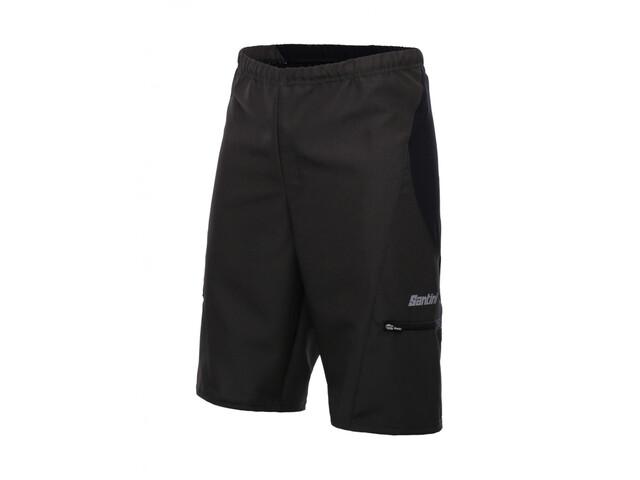 Santini Bosco MTB Shorts Heren, nero